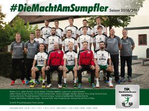1. Herrenmannschaft Saison 2016/2017