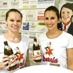 """Sternla schmeckt"" ! Verena Reusch (links) und Romina Keidel (rechts)"