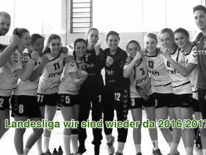 Weibliche A-Jugend wieder in der Landesliga