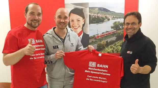 Mainfrankenbahn und Main-Spessart-Express neuer Förderer der 2. Männermannschaft