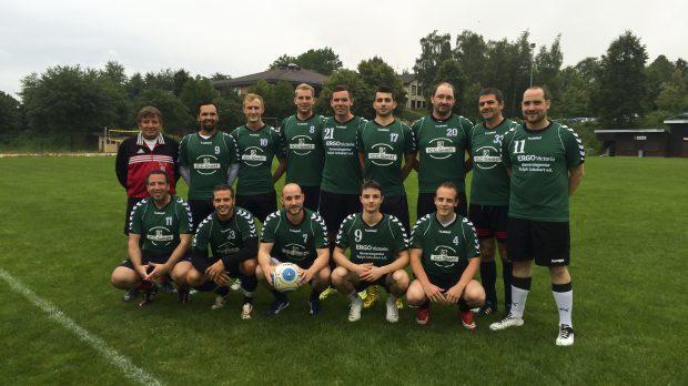 Freundschaftsspiel zwischen der DjK Waldbüttelbrunn Herren II und dem TSV Gerchsheim