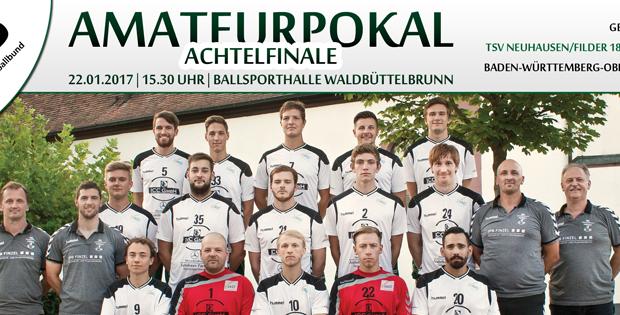 DHB-Amateurpokal: Herren I – TSV Neuhausen