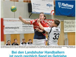 TG Landshut - DjK Waldbüttelbrunn Bayernliga Herren 2016/2017