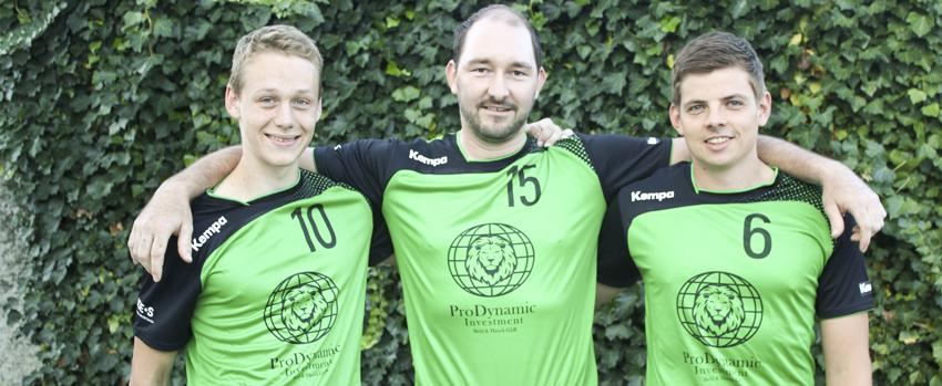 Neuzugänge: Jonathan Hansen (TV Kleinwallstadt), Florian Nöth (TG Heidingsfeld), Philipp Heuer (TG Heidingsfeld)