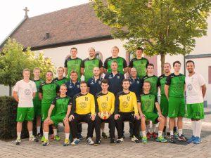 Mannschaftsfoto Herren II Saison 2016/2017