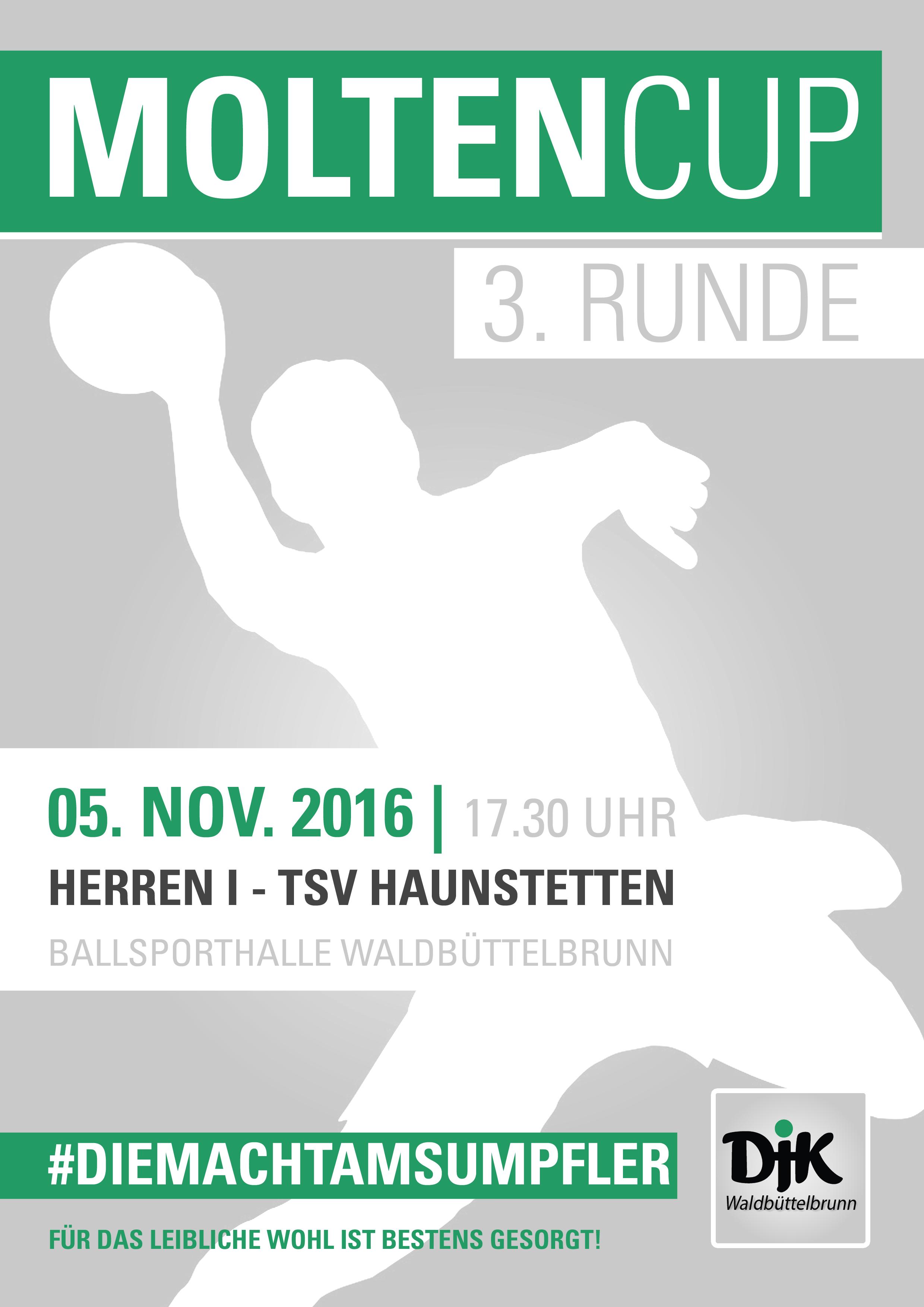 Molten Cup - 3. Runde - DjK Waldbüttelbrunn vs. TSV Haunstetten