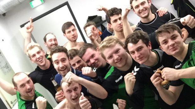 Sieg der DJK Waldbüttelbrunn 2. Männermannschaft gegen die Bundesliga-Reserve aus Rimpar!