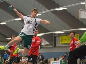Tobias Glöggler - der junge Kreisläufer soll es in Günzburg richten