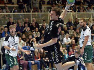 Erlanger Handballer können auch Kampf