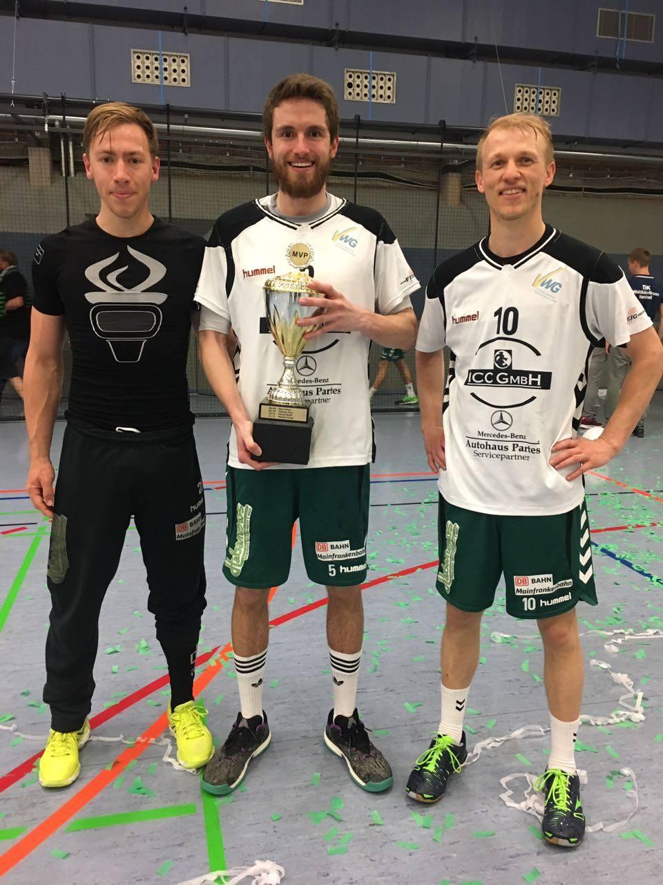 Der wertvollste Spieler der Saison 2016/2017 der DjK Waldbüttelbrunn Julian Stumpf